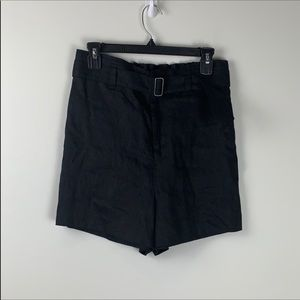 Sanctuary black linen shorts-size 27